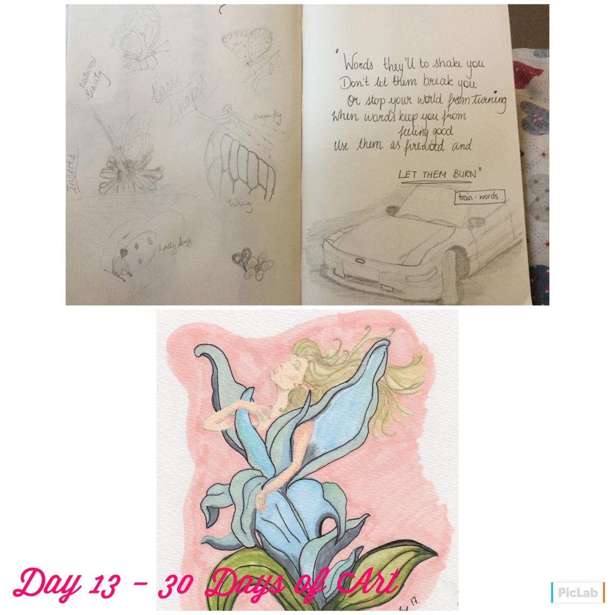Day 13 – 30 Days of Art.