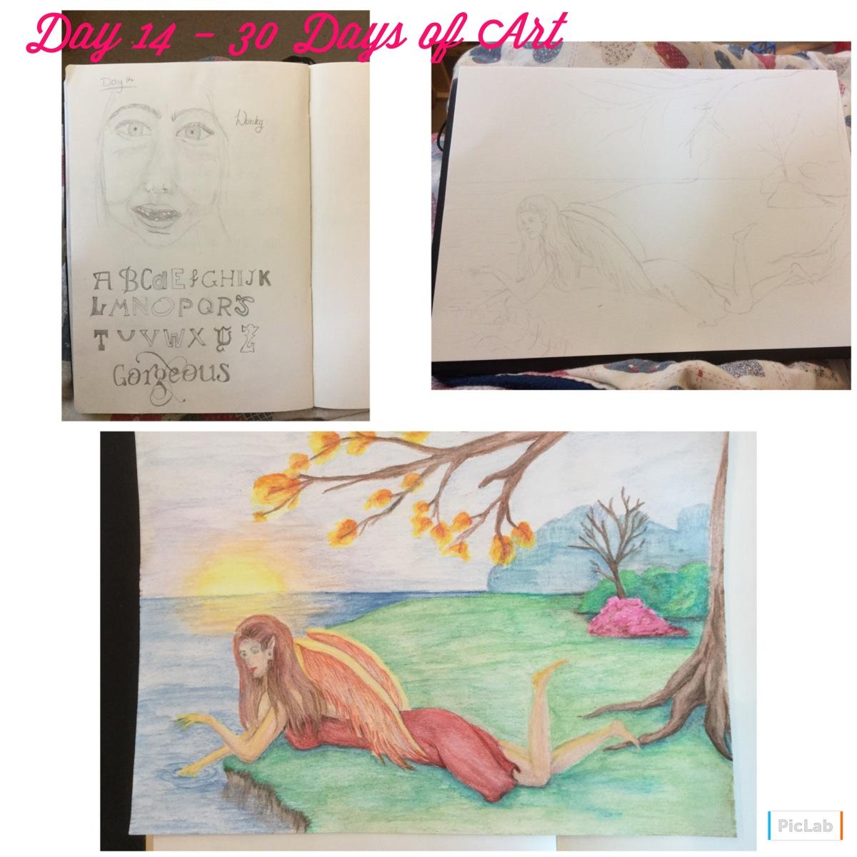 Day 14 – 30 Days of Art
