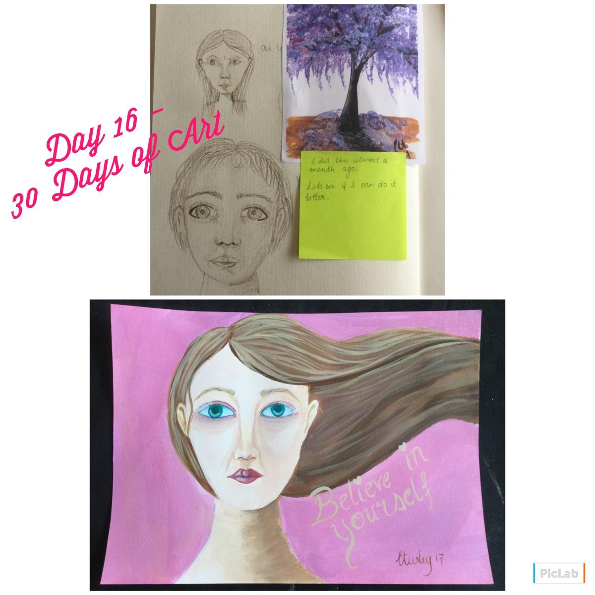Day 16 – 30 Days ofArt
