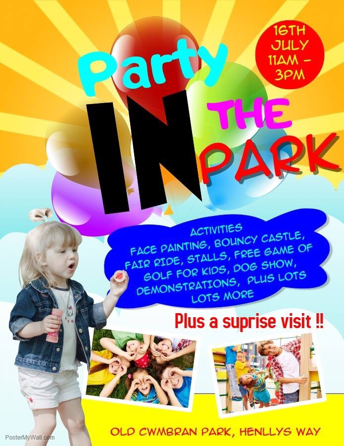 Party in the Park Event!